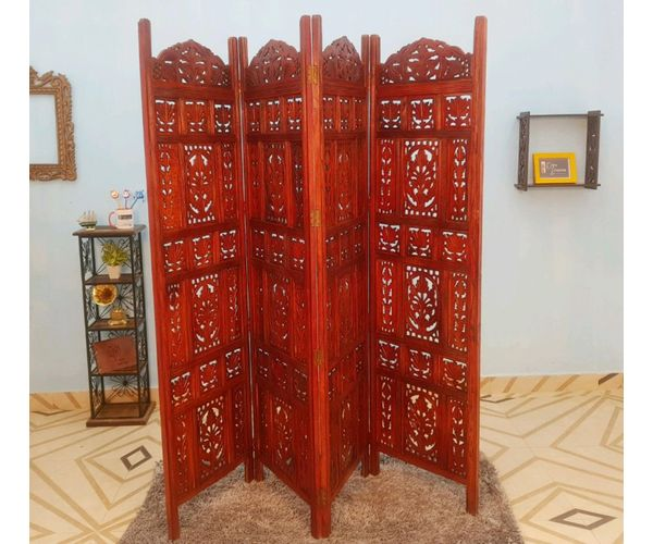 Zoom. Sale. Onlineshoppee Brown Sheesham Wood Partition ...