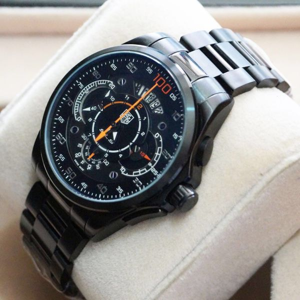 176e5a1c20c TAG HEUER FULL BLACK SLS MERCEDES BENZ MEN S WATCH WITH ALL FUNCTIONS  WORKING