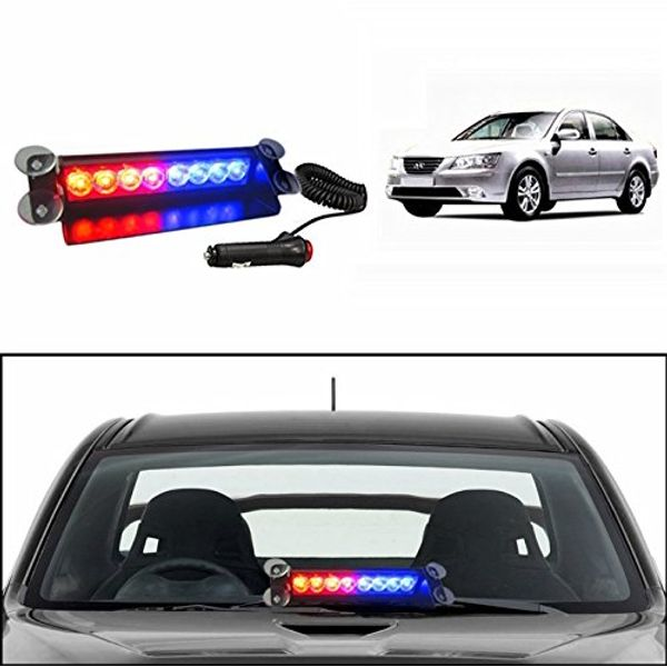 Speedy Riders Police Style Car Led Flashing Lights Red And