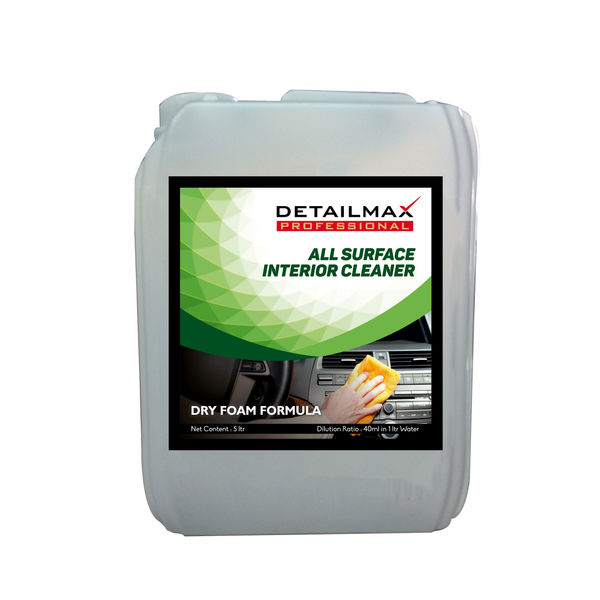 DETAILMAX  Dry Foam All Surface Interior Cleaner 5ltr