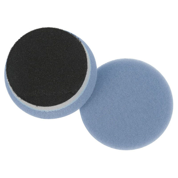 "Lake Country 3.5"" Blue Heavy Duty Orbital Cutting Pad ( DA Pad )"