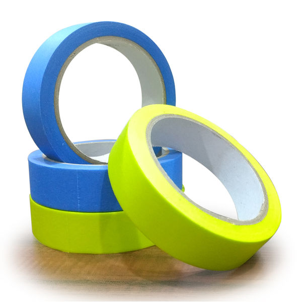 Autofresh Color Masking Tape Pack of 4 (2 Blue & 2 Green)