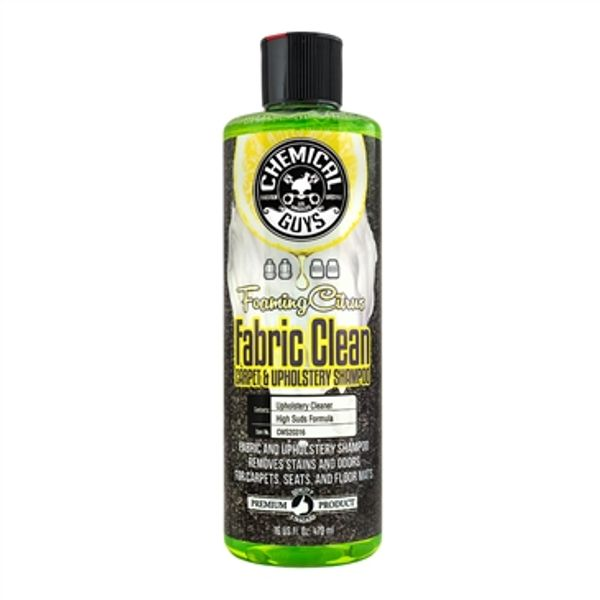 Chemical Guys  - Foaming Citrus Fabric Clean Carpet & Upholstery Shampoo & Odor Eliminator 473 ml