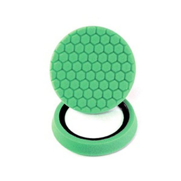 """Chemical Guys 7.5""""Hex Logic Self Centered Light Cutting Pad-Green"""
