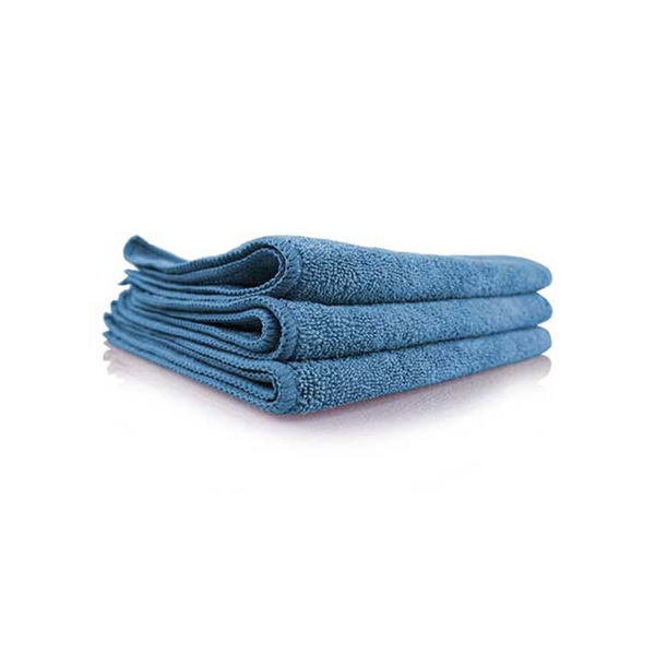 "Chemical Guys Workhorse Professional Grade Microfiber Towel Blue (Pack Of 3,16""x16"")"