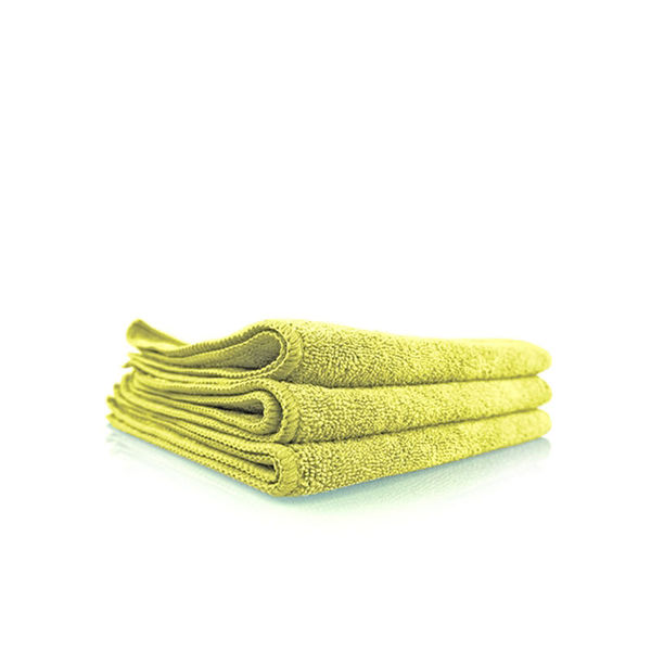 """Chemical Guys Workhorse Professional Grade Microfiber Towel Yellow (Pack Of 3,16""""x16"""" )"""