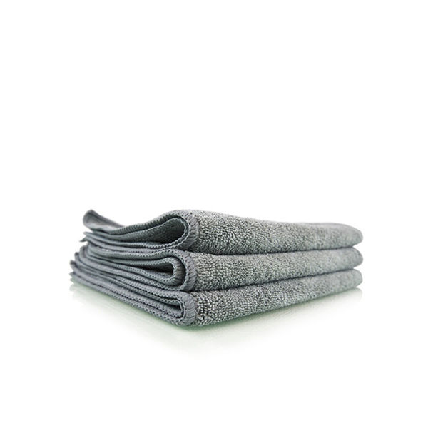 "Chemical Guys Workhorse  professional Grade Microfiber Towel Gray ( Pack of 3, 16""x16"" )"