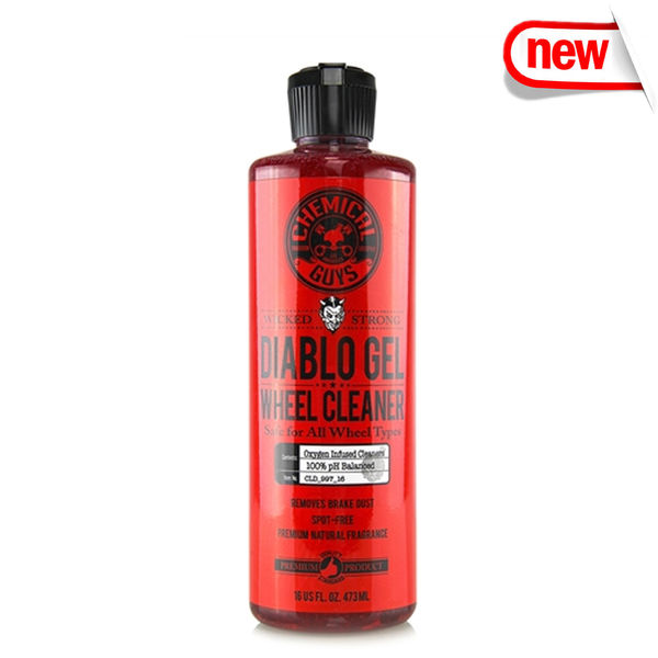 Chemical Guys Diablo Gel Wheel And Rim Cleaner Concentrated ( 473 ml )