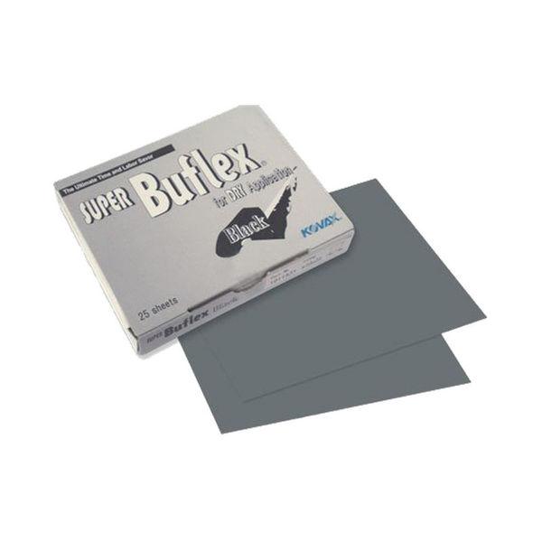 Kovax - Super Buflex Sanding Sheet with Slit - Black (3000 Grit), 10pcs
