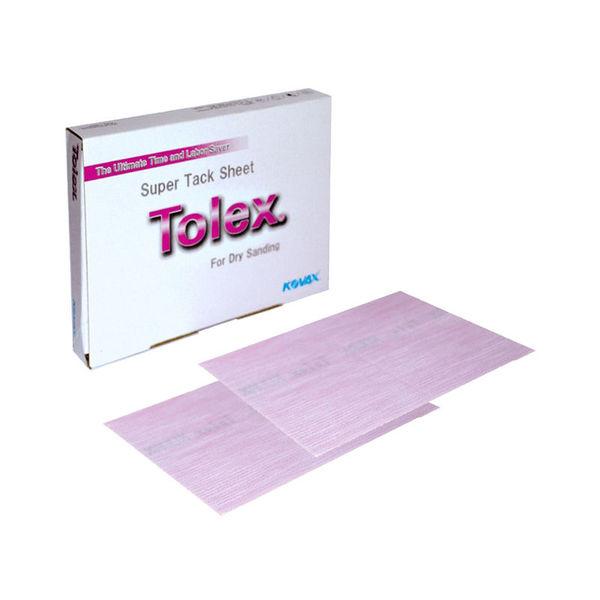 Kovax- Tolex Supertack Sanding Sheet with Slit- Pink (2000 Grit),10pcs