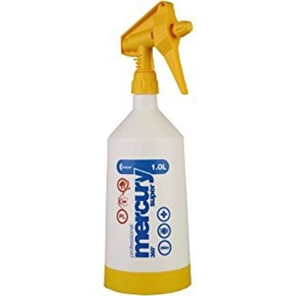 Kwazar Mercury Super Pro+ 360 Spray Bottle  Yellow - 1 LTR