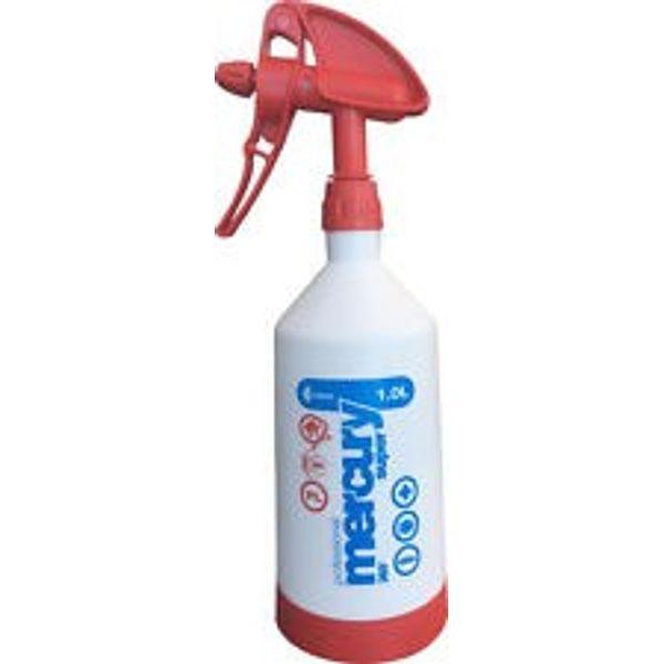 Kwazar Mercury Super Pro+ 360 Spray Bottle - 1 .0L - Red