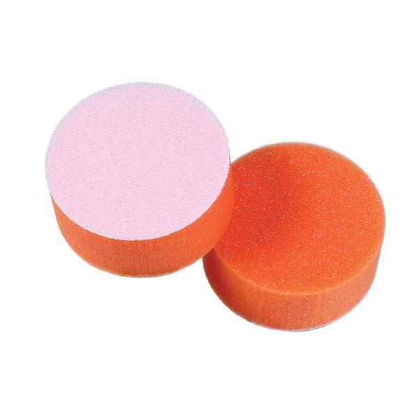"Lake Country 3"" Tangerine Foam Flat Light Polishing Pad"