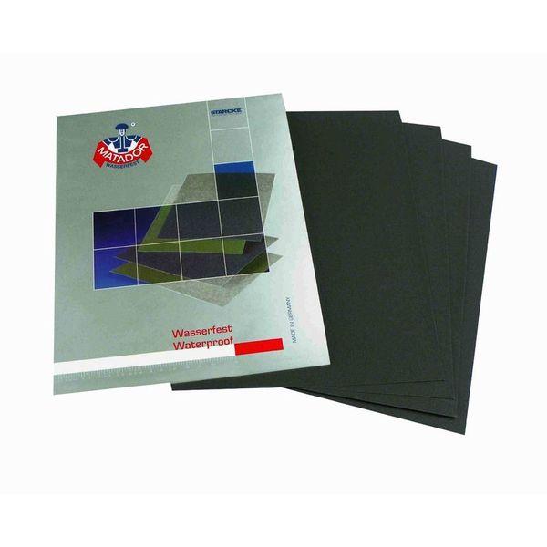 Matador Sanding Sheet / Paper 5000 Grit Set of 25