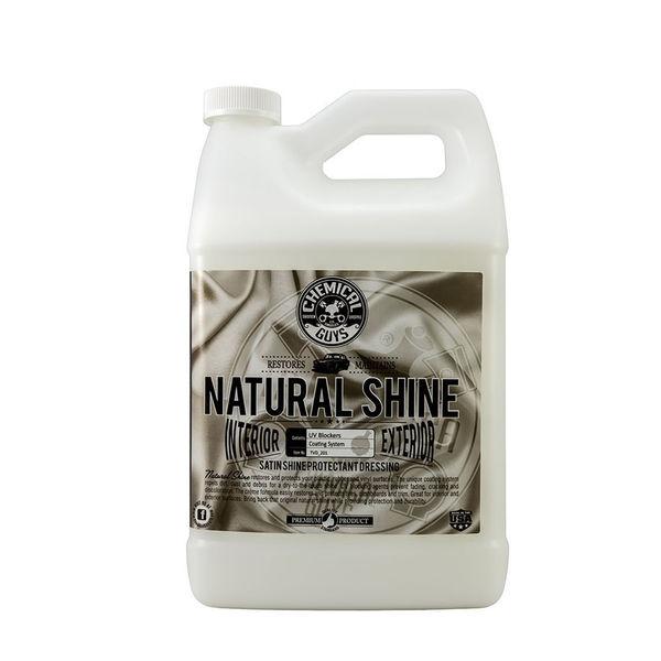 Chemical Guys Natural Shine, Satin Shine Dressing / Polish ( Gal )