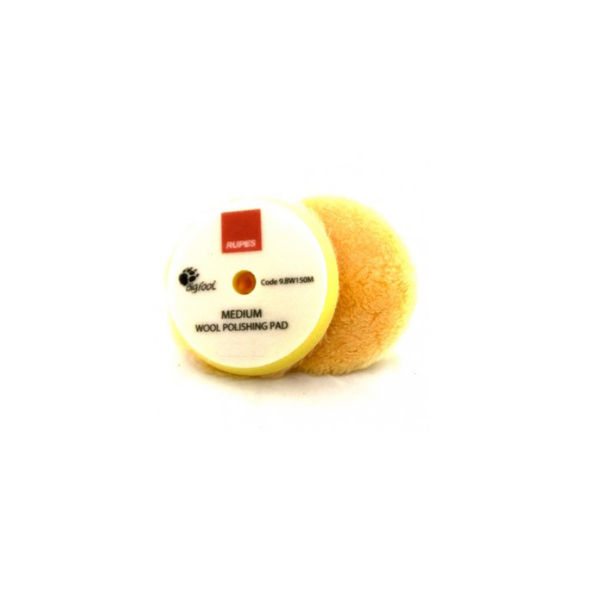 Rupes Wool Polishing Pad 150mm Yellow (DA PAD )