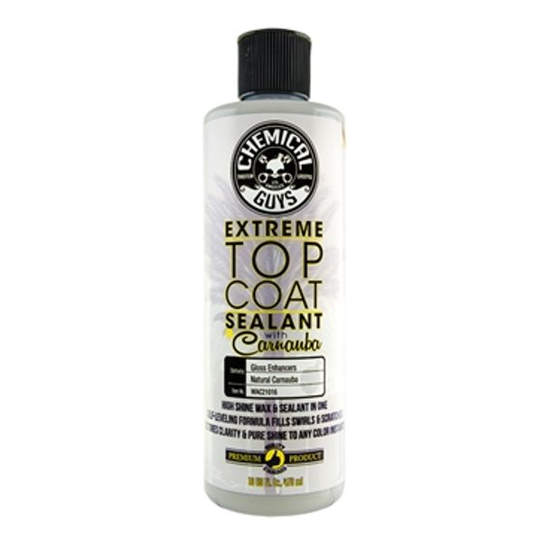 Chemical Guys  Extreme Top Coat Carnauba Wax And Sealant In One (16 oz)