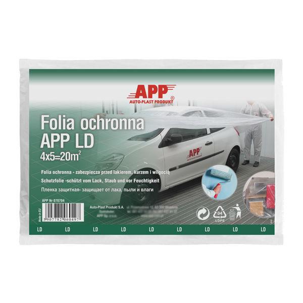 APP F LD Protective film (thin) 4mx5m -  Set of 4