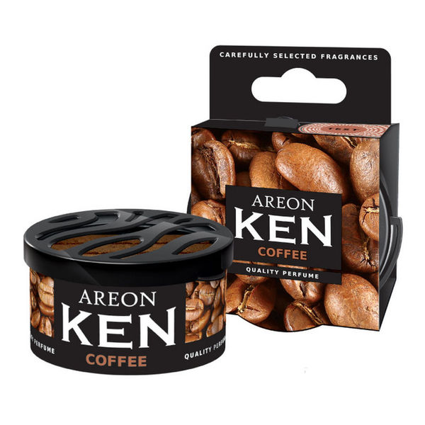 Areon Ken Gel Car Air Freshener - Coffee 35gm