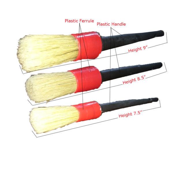 Autofresh Sash Detailing Brush With Plastic Handle Set of 3