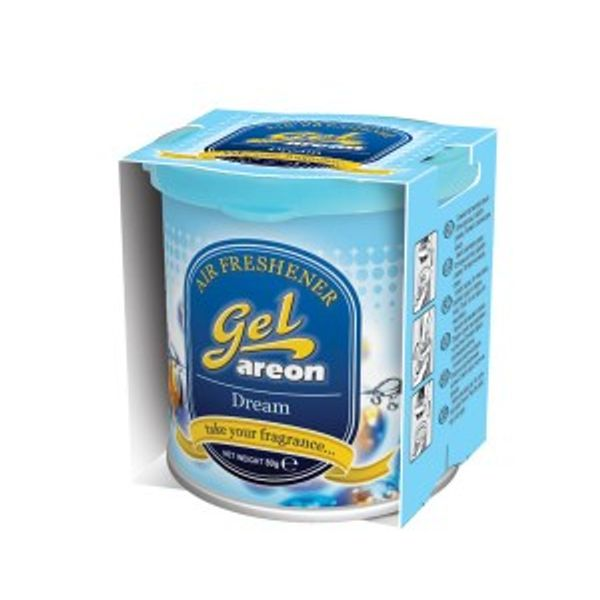 Areon Gel Car Air Freshener - Dream 80gm