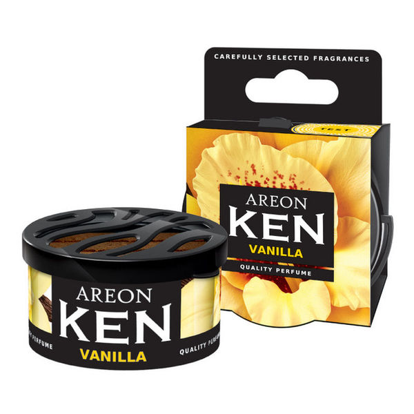 Areon Ken Gel Car Air Freshener - Vanilla 35gm