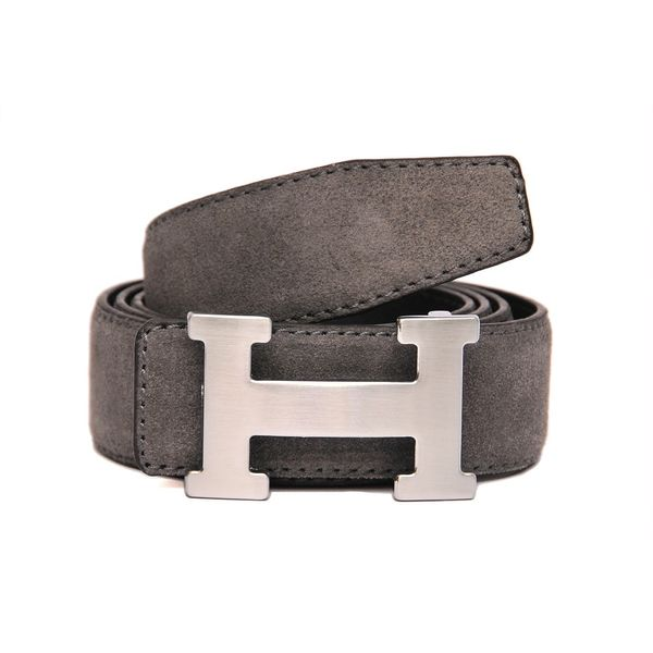 SUEDE LEATHER CASUAL BELT