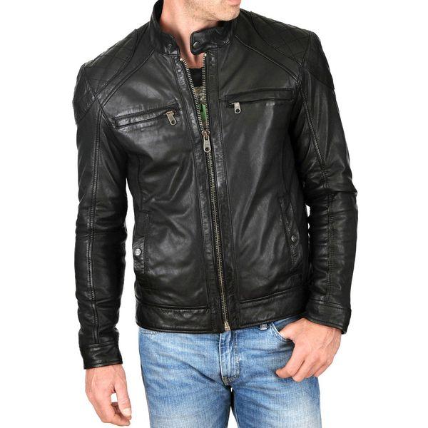a52dc39ec5 Buy Black Leather Jacket for Men online at Best Prices.