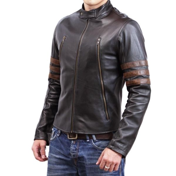 Buy men s premium faux leather jacket online at BeltKart 2391966ef33e