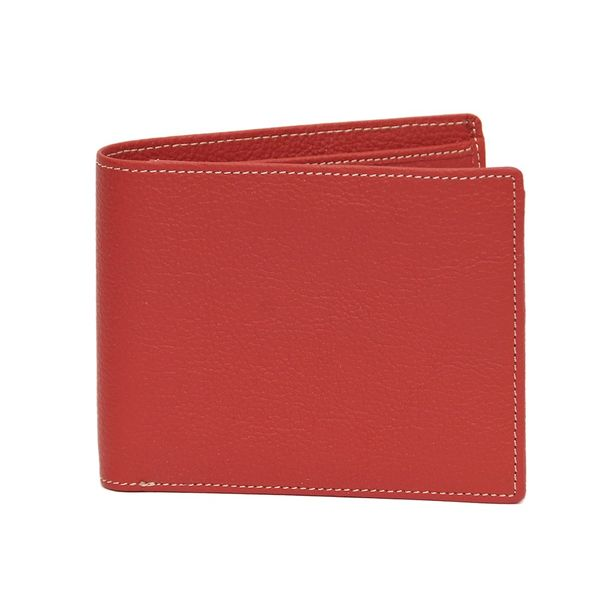FUNKY RED LEATHER WALLET