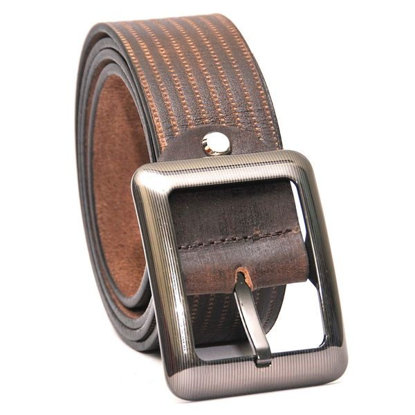SMART BROWN CASUAL LEATHER BELT