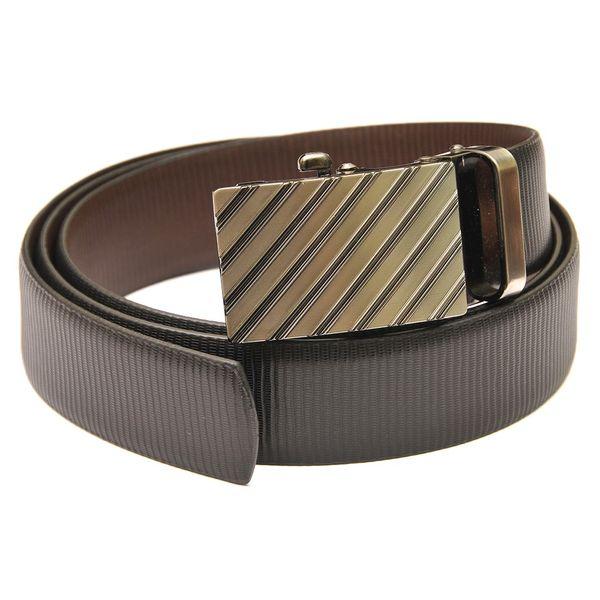 HideMark Reversible Black and Brown Leather Belt