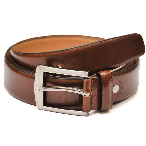 Classic American Tan Leather Belt