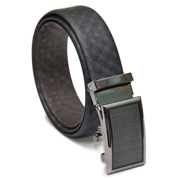 Business Belts For Men with Exquisite Belt Buckle