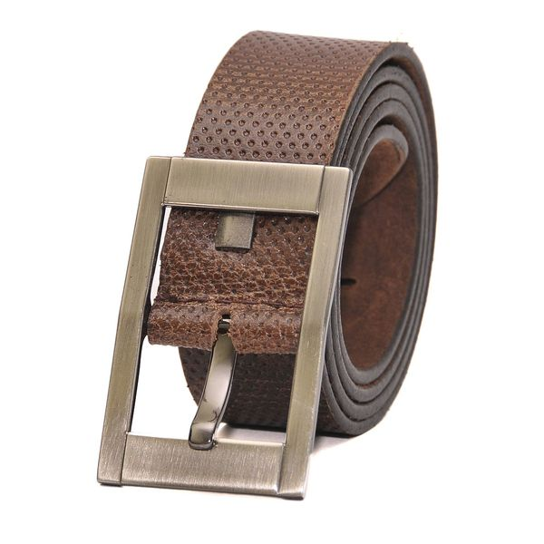 HIDEMARK BROWN LEATHER CASUAL BELT