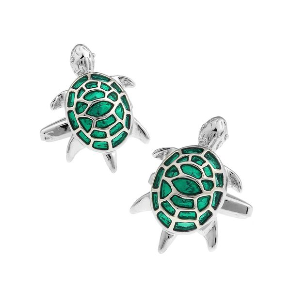 GOOD-LUCK CHARM TURTLE CUFFLINKS