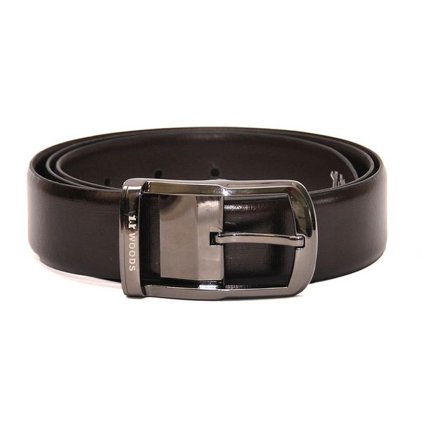 CLASSIC FORMAL BROWN LEATHER BELT