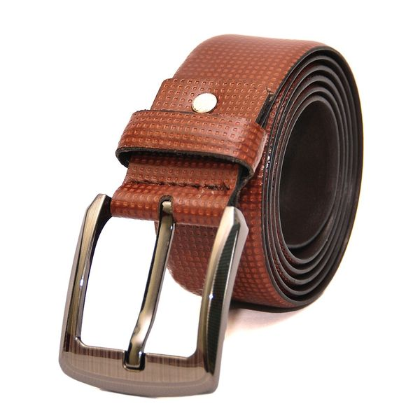 HIDEMARK SIENNA DOTTED CASUAL LEATHER BELT