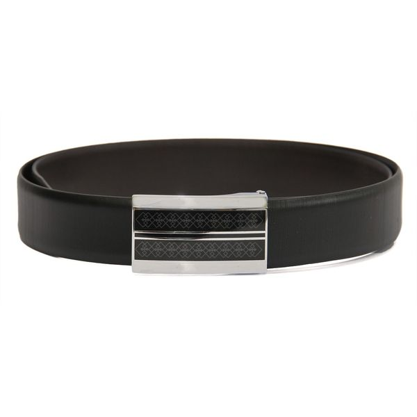 HIDEMARK EXECUTIVE MENS LEATHER BELT WITH BOX FRAME BUCKLE