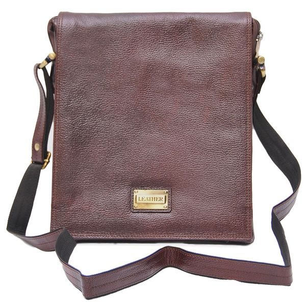 HIDEMARK STYLISH BROWN LEATHER SLING BAG