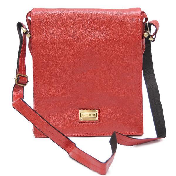 HIDEMARK STYLISH RED LEATHER SLING BAG