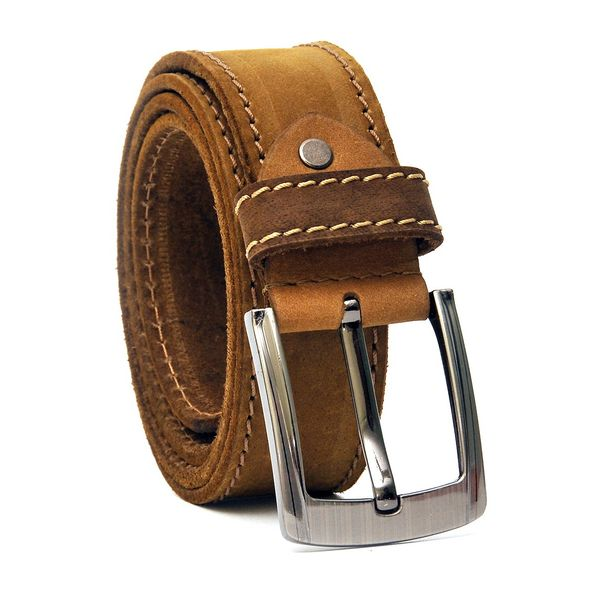 SUEDE CASUAL LEATHER BELT