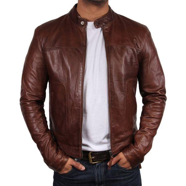 Men's Leather Biker Jackets | BeltKart