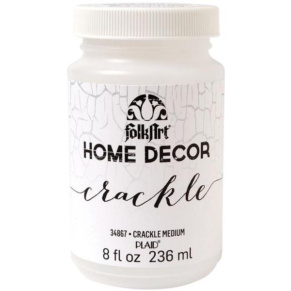 FolkArt Home Decor Crackle Medium 8oz