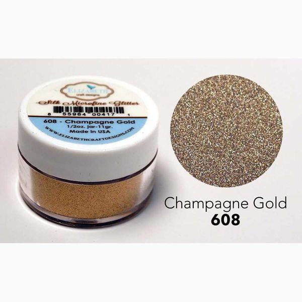 Champagne Gold - Silk Microfine Glitter