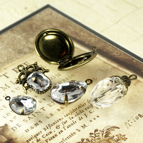Vintage Trinkets Charms