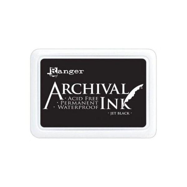 Jet Black - Jumbo Ink Pad