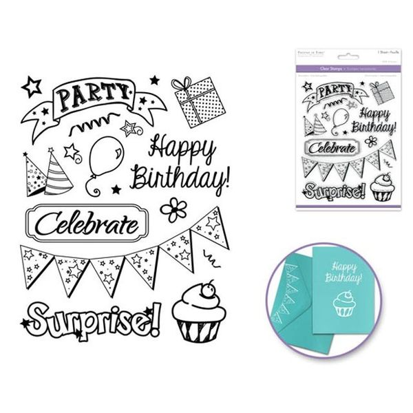 Stamp - Birthday Celebration