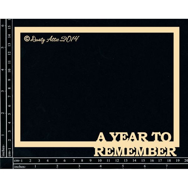 A Year to Remember Frame