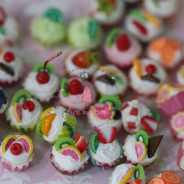 Miniature Fruit Cup Cake | Dmcma10617 | Dress My Craft